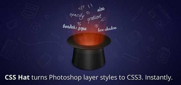 Plugins photoshop CSS Hat