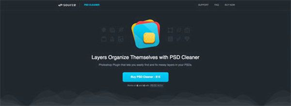 plugin photoshop PSD Cleaner
