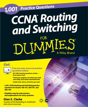 Ebook 1001 CCNA Routing and Switching Practice Questions For Dummies PDF